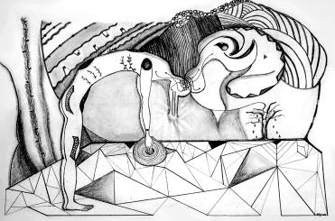 """""""Intersección"""" [Intersection] -- Virgínia T. Santos"""